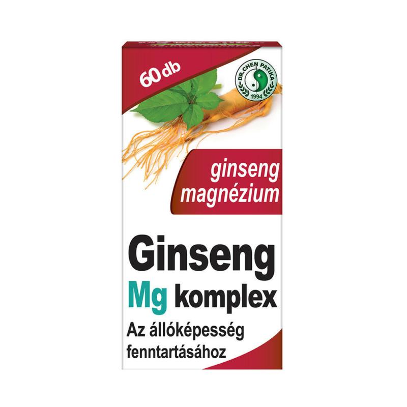 Dr.Chen Ginseng MG komplex  kapszula 60x