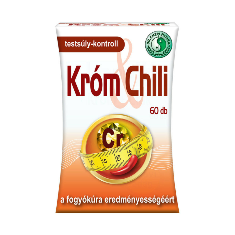 Dr.Chen Króm és Chili kapszula 60x