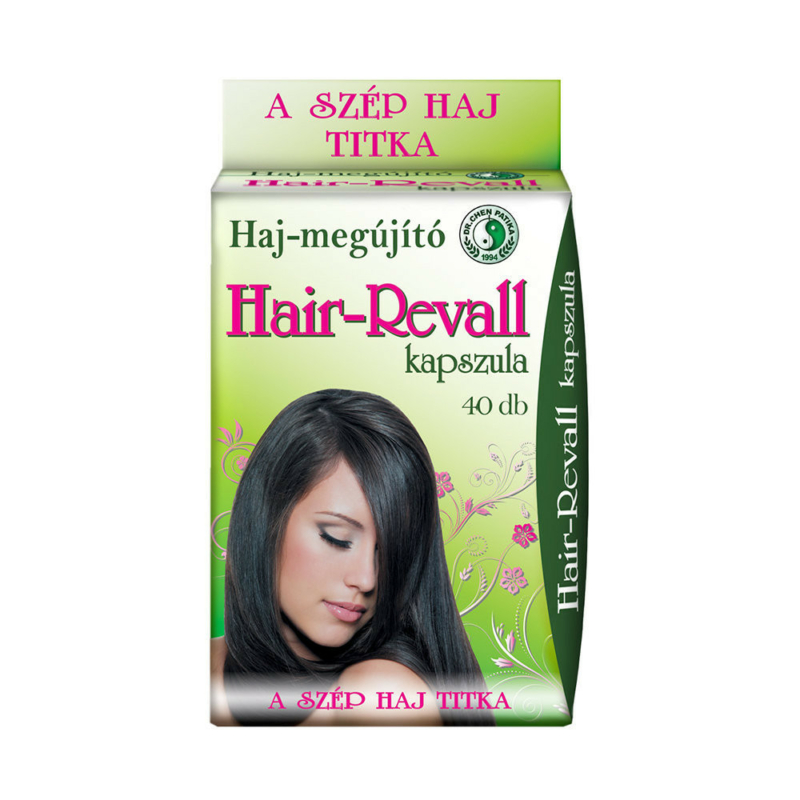 Dr.Chen Hair revall kapszula 500mg 40x
