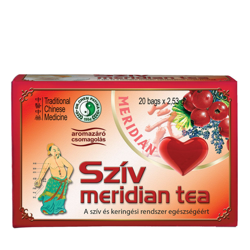 Dr.Chen Szív meridián tea 20x2,53g