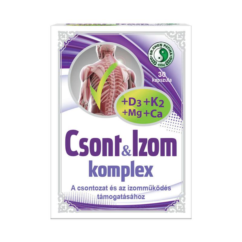 Dr.Chen Csont és Izom komplex tabletta K2+D3+Ca+Mg 30x
