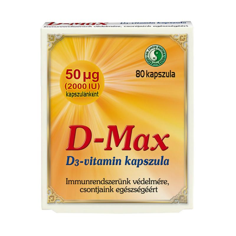 Dr.Chen D-Max Plus D3-vitamin kapszula 60x