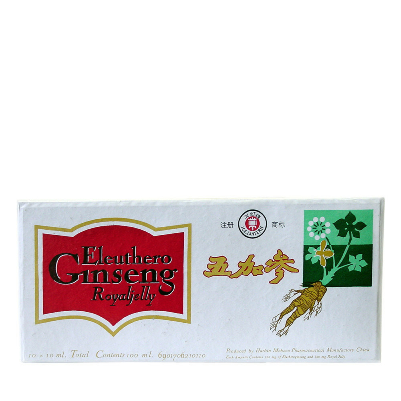 Dr.Chen Eleuthero ginseng royal jelly fehér ampulla 10x10ml