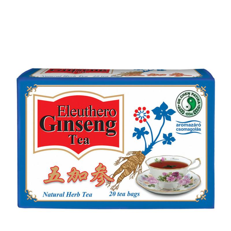 Dr.Chen Eleuthero ginseng és zöld tea keverék 20x2,3g
