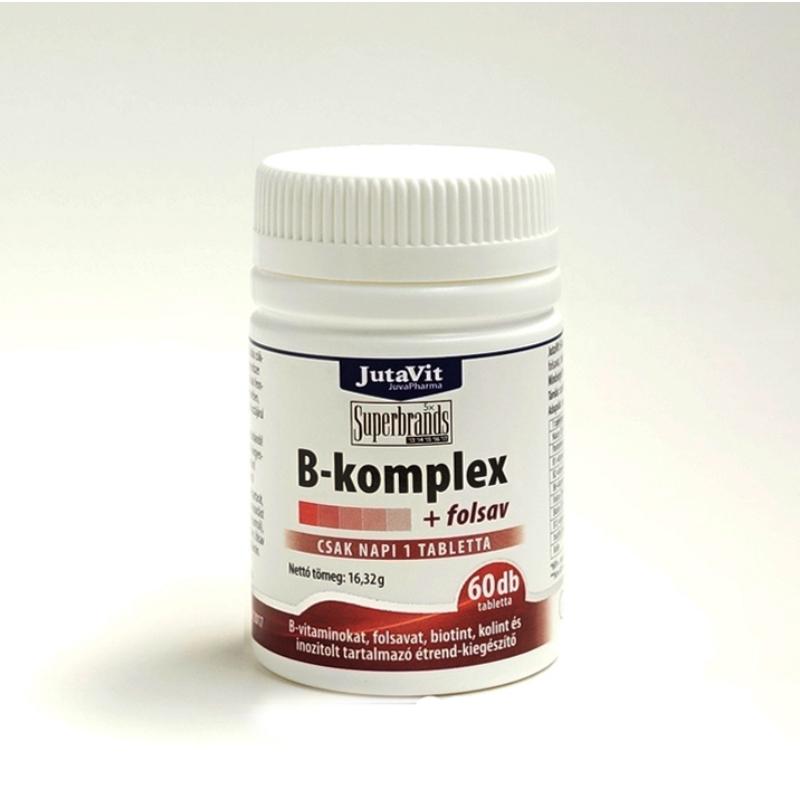 JutaVit B-komplex+folsav 60x