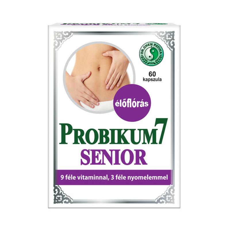 Dr.Chen Probikum 7 Senior kapszula 60x