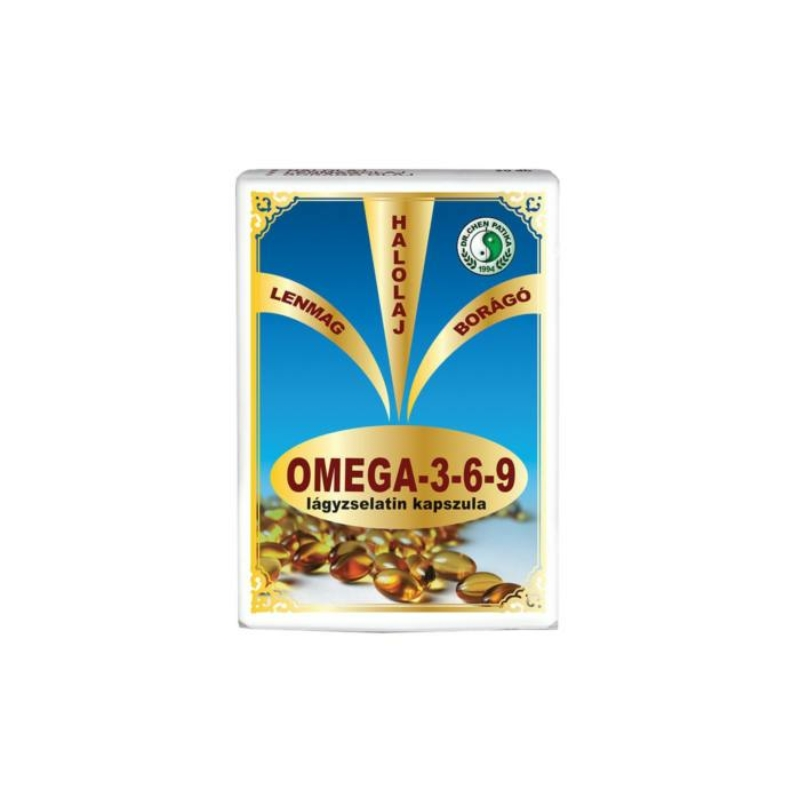 Dr.Chen Omega 3-6-9 lágyzselatin kapszula 30x