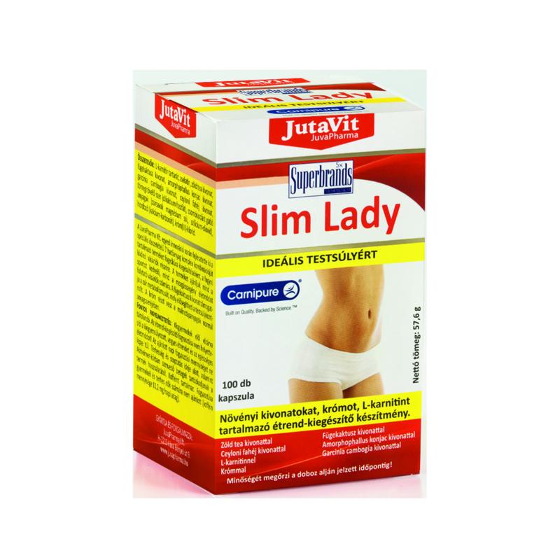 Jutavit kapszula Slim Lady Fat Burner 100x