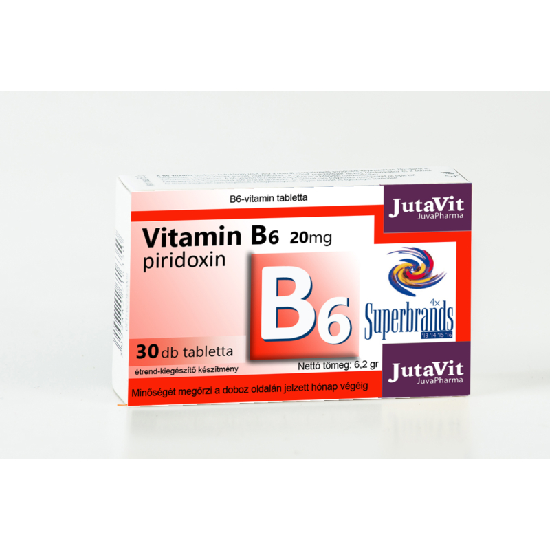 JutaVit B6 vitamin 20mg 30x