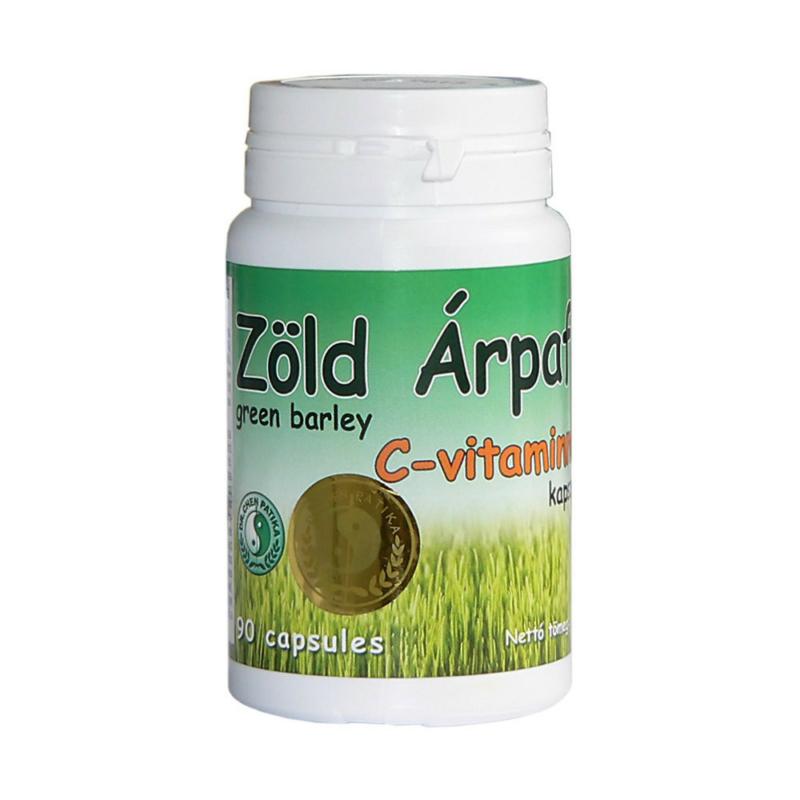 Dr.Chen Zöld Árpafű kapszula C-vitaminnal 300 mg 90x