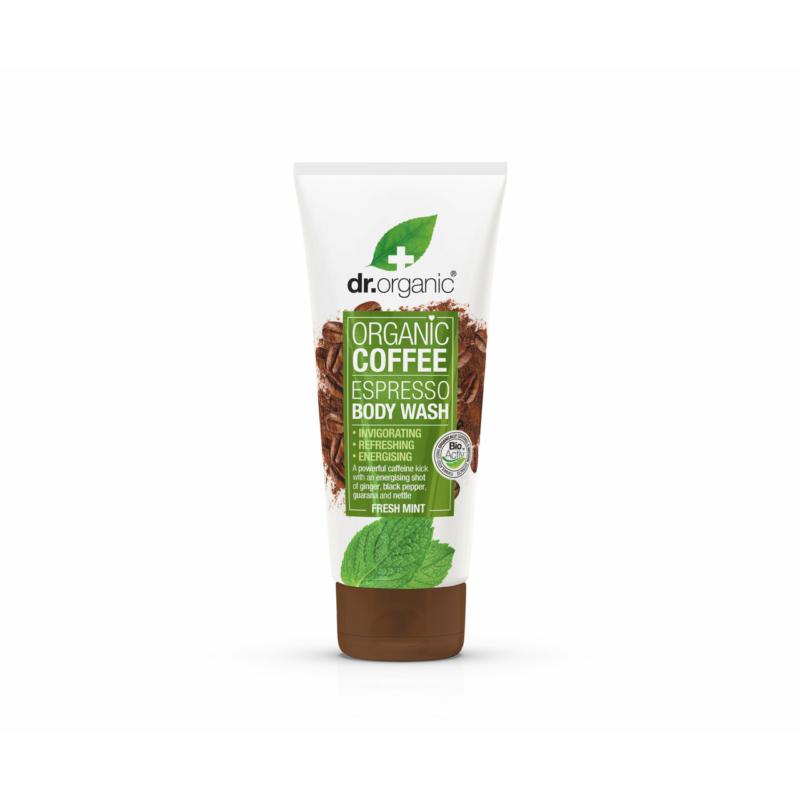 Dr. Organic Élénkítő tusfürdő bio kávéval • 200ml