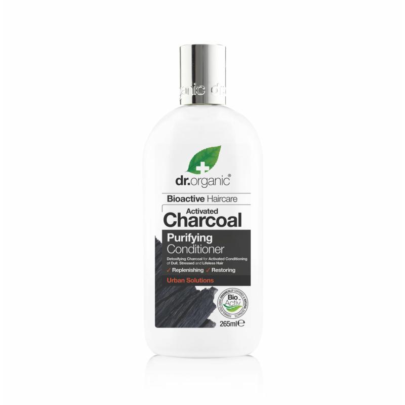 Dr. Organic Mélytisztító kondicionáló aktív szénnel • 265 ml