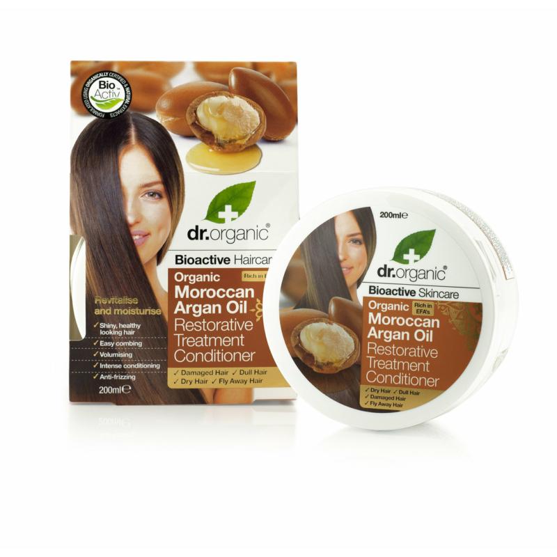 Dr. Organic Regeneráló hajpakolás bio marokkói argánolajjal • 200 ml