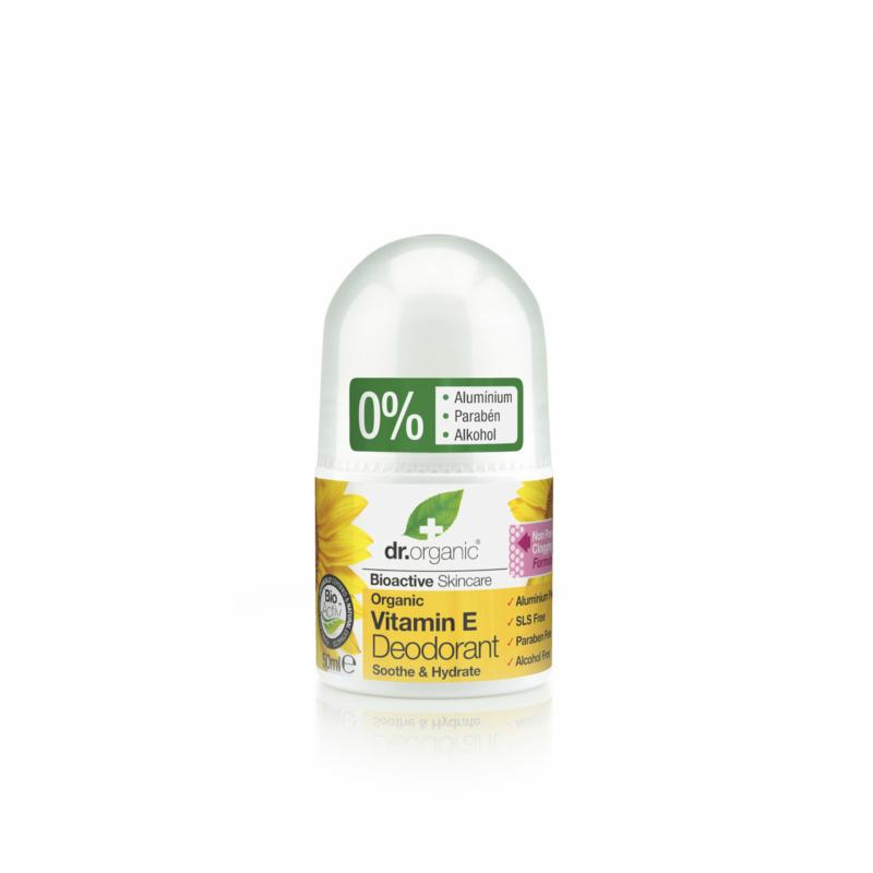 Dr. Organic Golyós dezodor Bio E-vitaminnal • 50 ml