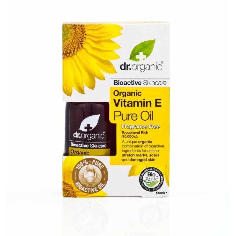 Dr. Organic Olaj Bio E-vitaminnal • 50 ml
