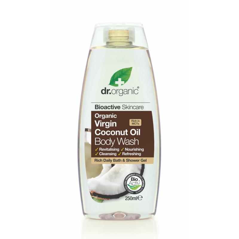 Dr. Organic Tusfürdő bioaktív szűz kókuszolajjal • 250 ml