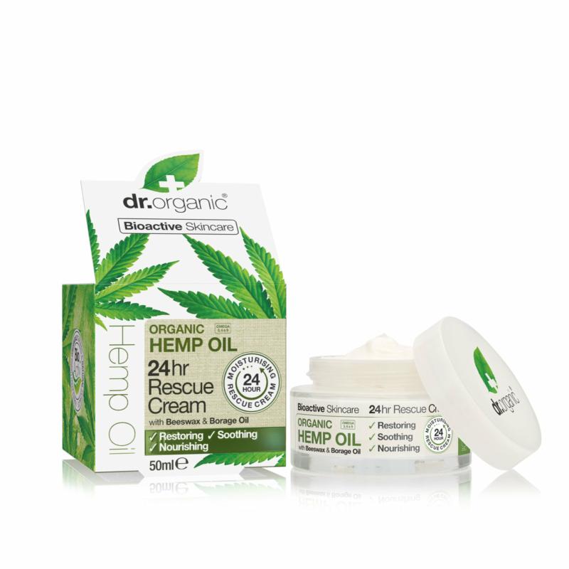 Dr. Organic 24 órás Elsõsegély krém bioaktív kendermagolajjal • 50ml