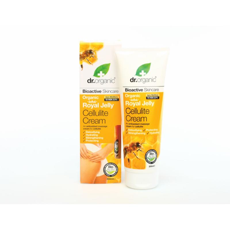 Dr. Organic Cellulit elleni krém Bio méhpempővel • 200 ml