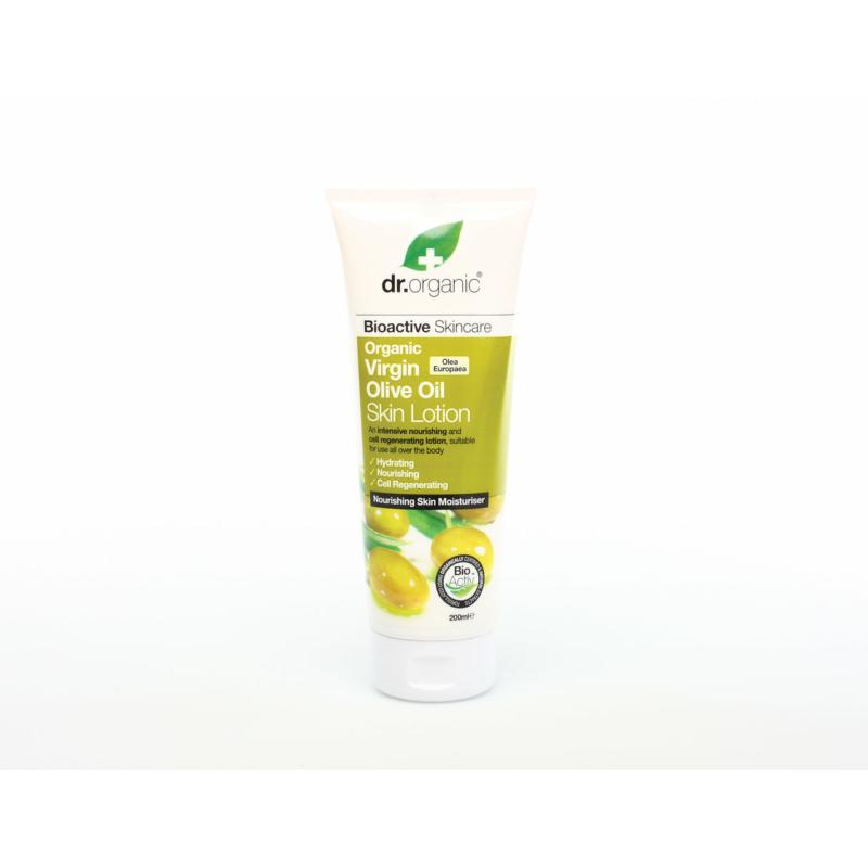 Dr. Organic Testápoló Bio olívával • 200 ml