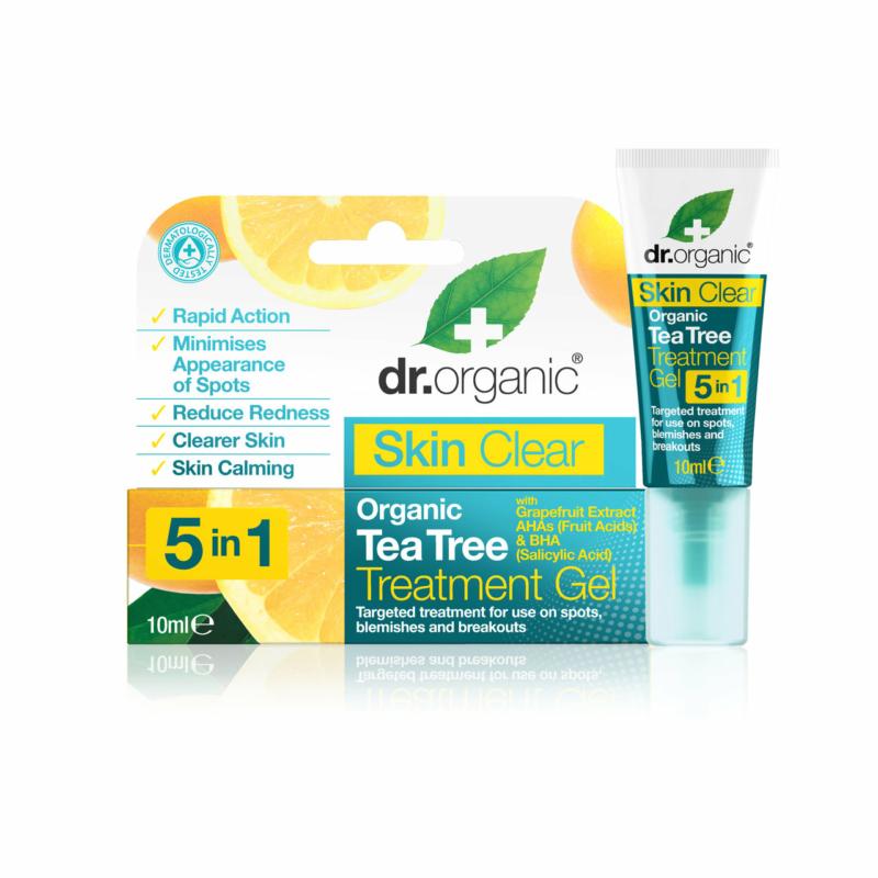 Dr. Organic Skin Clear Pattanáskezelő gél 5 az 1-ben • 10 ml