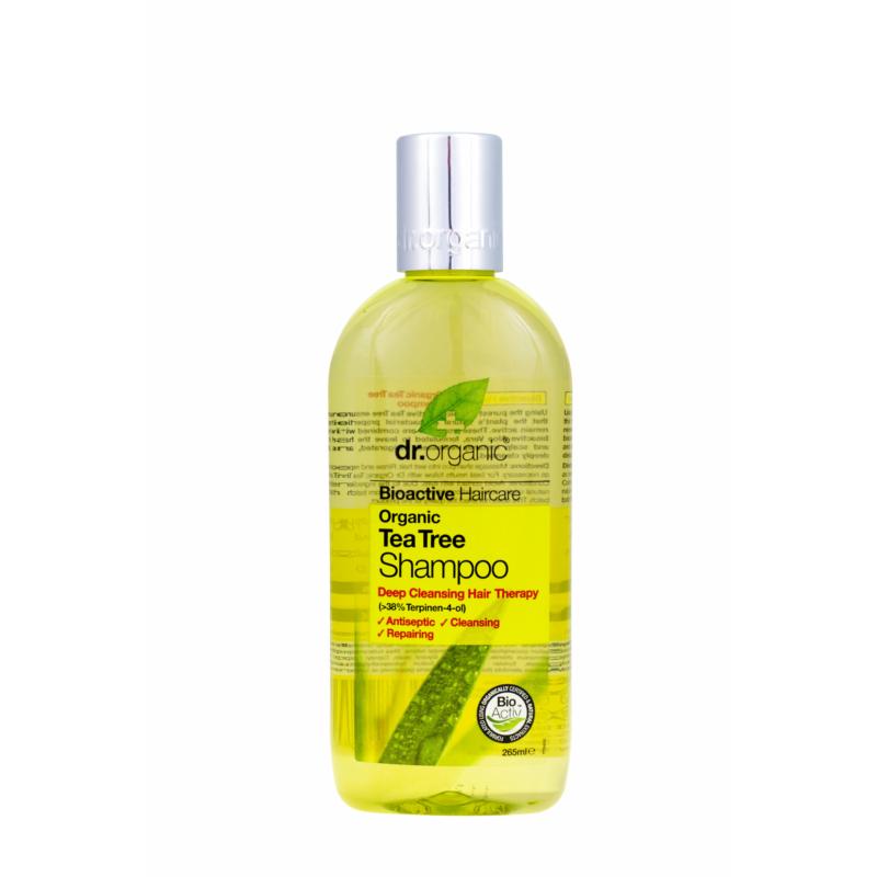 Dr. Organic Sampon Bio teafával • 265 ml