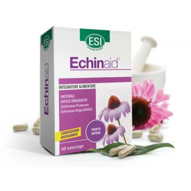 ESI® Echinacea kapszula dupla - Echinacea purpurea és E. angustifolia koncentrált, nagy dózisú kivonata. 60 db