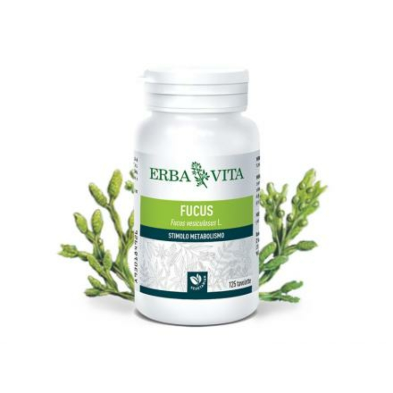 ErbaVita® Barna alga tabletta - Szerves jód- és kolloidális alginsav forrás, az anyagcsere serkentéséhez.