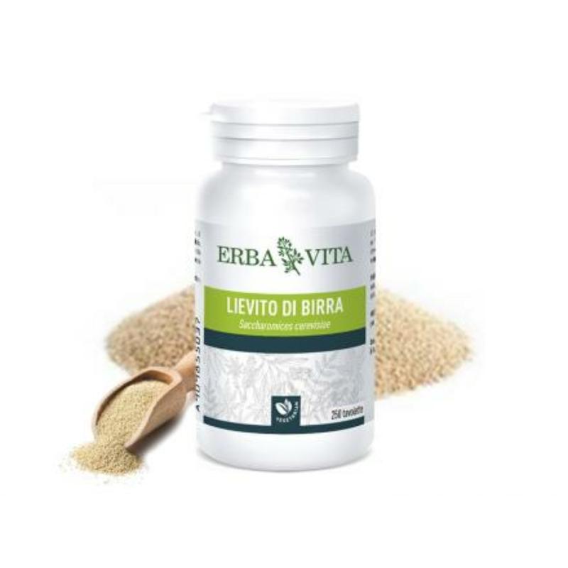 ErbaVita® Mikronizált Sörélesztő tabletta - Máj, idegrendszer, emésztőrendszer és kötőszövet egészsége.