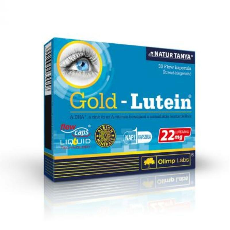 Olimp Labs Gold Lutein - A SZEMEK VÉDELMÉBEN