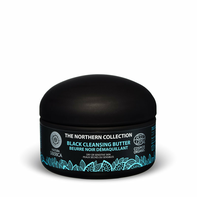 Natura Siberica Fekete arctisztító vaj száraz és érzékeny bőrre • 120ml
