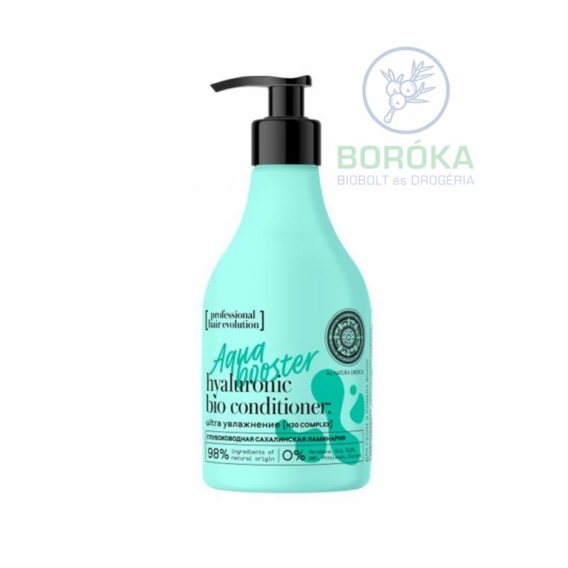"Natura Siberica Hair Evolution professional "" Aqua booster"" természetes hajkondicionáló • 245ml"