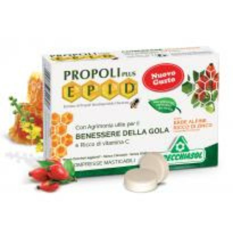 Specchiasol® Cukormentes Propolisz szopogatós tabletta cinkkel dúsítva, alpesi gyógynövénnyel - EPID® szabadalom