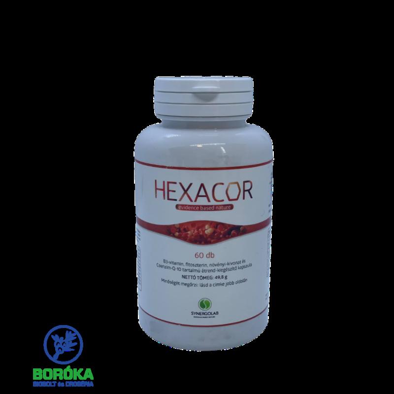 Synergolab Hexacor 60 db kapszula
