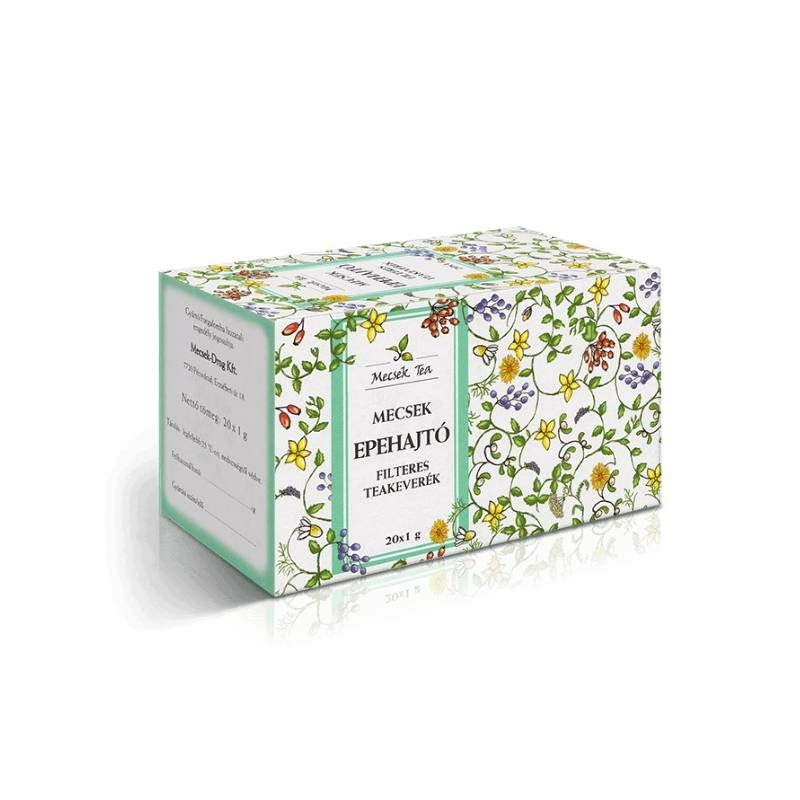 Mecsek Epehajtó tea filteres 20x