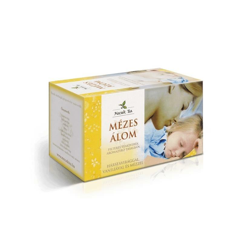 Mecsek Mézes álom tea filteres bodza és hársfavirág 20x1g