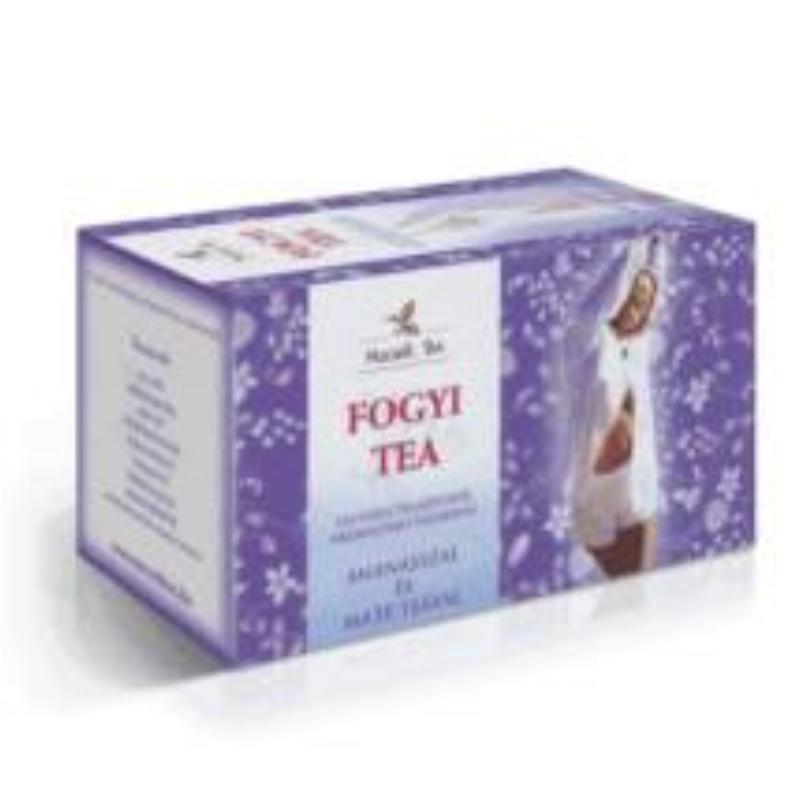 Mecsek Fogyi Tea Ananásszal és Mate teával filteres 20x1g