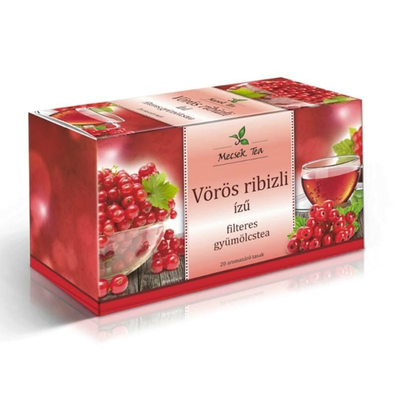 Mecsek Gyümölcstea vörösribizli  filteres 20x