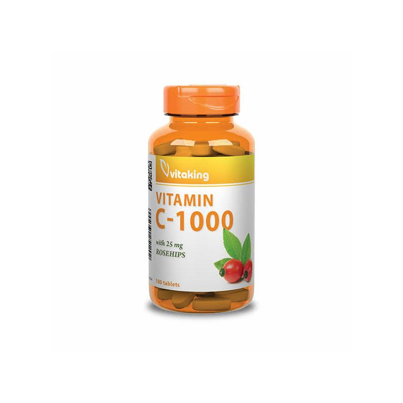 VITAKING C-VITAMIN 1000MG (100 TABLETTA)